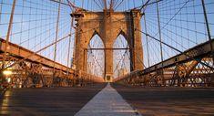 The Brooklyn bridge, New York City, New York. USA.