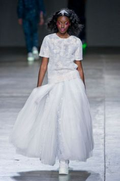 Ashish F14 http://shopuniques.com/magazine/uncategorized/spring-summer-2014-fashion-trend-white/ #Fashion #shopUNIQUES #SpringSummer2014 #FashionTrend #White #Style #AshishF14 #Ashish