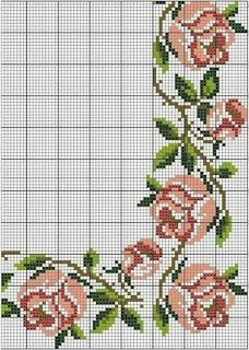 1 million+ Stunning Free Images to Use Anywhere Cross Stitch Borders, Cross Stitch Rose, Cross Stitch Flowers, Cross Stitch Designs, Cross Stitching, Cross Stitch Patterns, Embroidery Hearts, Folk Embroidery, Hand Embroidery Stitches
