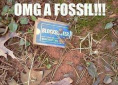A Fossil   // funny pictures - funny photos - funny images - funny pics - funny quotes - #lol #humor #funnypictures