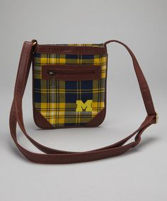 Michigan Crossbody Bag by Alma Mater Gifts