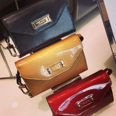 These iPhone wristlets from Tumi are both practical and stylish!