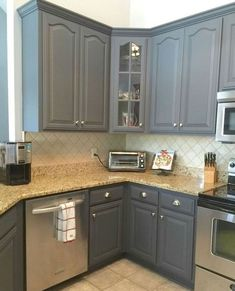31 Best Farmhouse Gray Kitchen Cabinet Design Ideas