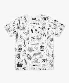 Tous nos t-shirtallovers sont unisexes.- t-shirt imprimé devant et dos- col rond- coupe droite- disponible en taille XS-XL   - composition: 100% polyester, toucher coton- entretien: lavage en machine, délicat, 30° à l'envers