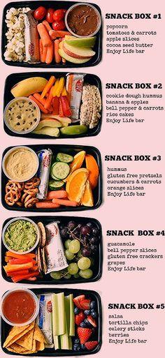 Boîtes Cadeau Enfant Orange ~ Fête D/'Anniversaire snack lunch box sac de nourriture repas