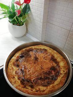 Γαλατόπιτα όπως παλιά, από Συνταγή της γιαγιάς Pie, Desserts, Food, Torte, Tailgate Desserts, Cake, Deserts, Fruit Cakes, Essen