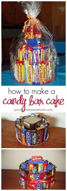 How to make a candy bar cake