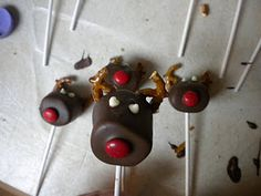 Chocolate Marshmallow Reindeer!