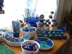 A Blue 40th Birthday Party!! check it all out on our blog.