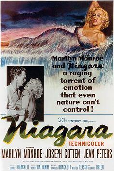 Niagara - 1953 - Movie Poster
