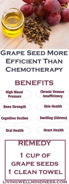 Grape Seed More Efficient Than Chemotherapy - Living Wellmindness