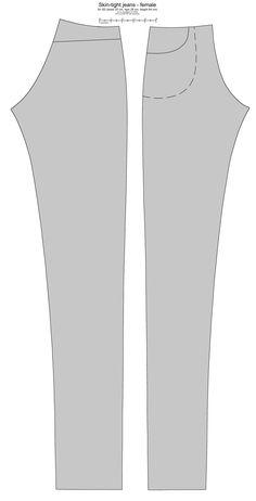 SD BJD (i-Doll) jeans femeninos de ~ scargeear en deviantART