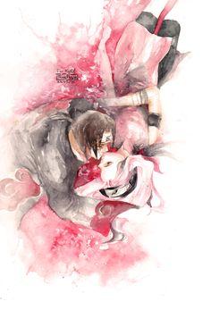 COM:ITACHI-SAKURA by thuyngan.deviantart.com on @deviantART