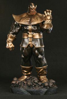Thanos Faux Bronze statue - Bowen Designs