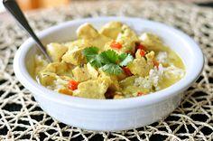Coconut Curry Soup via @melskitchencafe