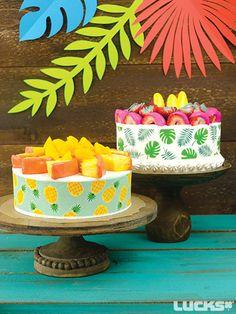 Dipped Fruit Cake Tarts