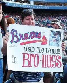 Oh, Freddie Freeman. Braves Baseball, Better Baseball, Tomahawk Chop, Fan Signs, Chop Chop, Game 7, Ready To Play, Atlanta Braves, Roll Tide
