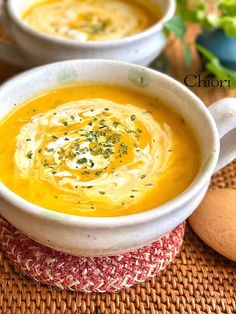 Soup Recipes, Recipies, Dessert Recipes, Desserts, Zucchini Salad, Japanese Food, Chowder, Hummus, Good Food