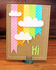Doodlebug Design Inc Blog: Washi Tape Challenge: Card Set by Kathy Skou