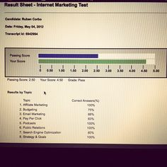 Again I know my shit!  #internetmarketing #odesk #freelancing You are able to begin learning about Online marketing or perhaps the way to make an application and get employed in an online profession. Visit us right now at http://siterank101.biz