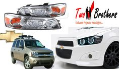Twobrothers: provides wide range of products from thousands of national and international brands of custom car headlights, Car Tail Lights, Custom Headlights and projector headlights for cars. Custom Headlights, Projector Headlights, Car Headlights, Chevy Silverado, Aftermarket Headlights, Car Lights, Tail Light, Custom Cars