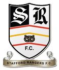 Stafford Rangers Football Club is a semi-professional English football team from Stafford which plays in the Northern Premier League Division One South. The team wear black and white stripes with black shorts. Stafford Rangers' rivals include Tamworth, Hednesford Town, Burton Albion, and Telford United