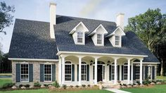 Colonial House Plan with 2410 Square Feet and 3 Bedrooms from Dream Home Source | House Plan Code DHSW46915