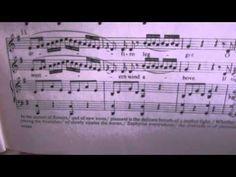 Vaccai Italian Vocal Method    Diction Lesson 22 Alla stagion de fiori