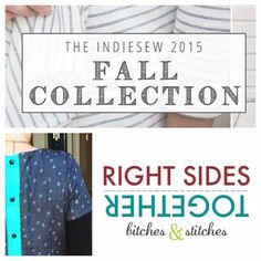 Indiesew 2015 Fall Collection - The Beatrix Top | Right Sides Together