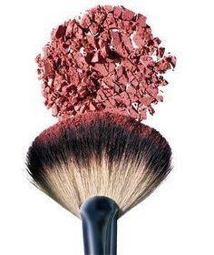 A fast way to clean makeup brushes: Dip the brush in warm, soapy water. Rinse it, blot the brush with a clean towel, then use a blow-dryer to dry the bristles gently.