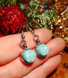 Now selling: Real raw aquamarine geode silver bohemian statement earrings, blue druzy geode earrings, aquamarine earrings, bohemian earrings,  statement https://www.etsy.com/listing/569001739/real-raw-aquamarine-geode-silver?utm_campaign=crowdfire&utm_content=crowdfire&utm_medium=social&utm_source=pinterest