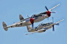 P38 and P51