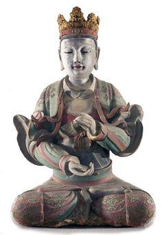 "buddhabe: "" Bodhisattva, 17th c., Chinese. Vanderbilt University. """