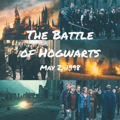 Today May 2nd was the day The Battle of Hogwarts took place so here's a small edit I created for this day.