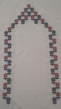 Diy And Crafts, Paper Crafts, Cross Stitch Flowers, Bohemian Rug, Embroidery, Crochet, Lunches, Cross Stitch Embroidery, Towels