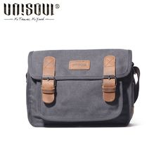 c570fdb328a9 UNISOUL Arrival Men Messenger Bag 2016 New Small Shoulder Bags Casual male  High Quality Satchels Fashion Canvas Crossobdy Bag