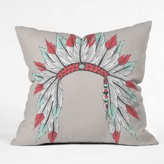 Wesley Bird Dressy Throw Pillow | DENY Designs Home Accessories