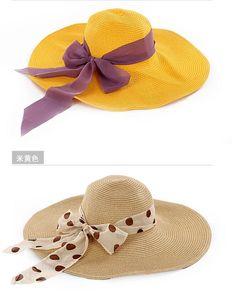 Diseñadores casco de sol plegables Hollow sombrero de paja sombrero para el  verano playa mujeres cinta 46387dc6606