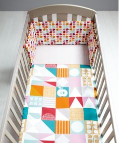 Patternology (Geometric) - Cotbed Quilt - Patternology - Mamas & Papas