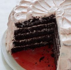 """Today Is Not the Work of Evil Despite It Being Called """"Devil's Food Cake Day"""" It Is the Work of Cake That Tastes Nothing Short of Heavenly."""