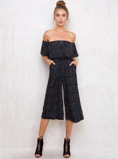 Find a cute new Playsuit from Princess Polly! Buy now, pay later with Afterpay. Off Shoulder Jumpsuit, Cotton Jumpsuit, Dresses Online Australia, Long Jumpsuits, Princess Polly, Online Dress Shopping, Boho Dress, Dress To Impress, Fashion Outfits