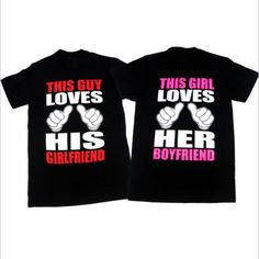 Find More T-Shirts Information about This Guy Loves His Girlfriend & This Girl Loves Her Boyfriend Couple T Shirts Mens Women Short Sleeve Tops Tee Shirt Design,High Quality t shirt men,China designer t shirt Suppliers, Cheap t shirt from U2 Tshirt Store on Aliexpress.com
