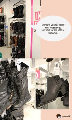 wide calf boots at dots