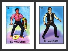 Star Wars-Inspired Loteria Cards