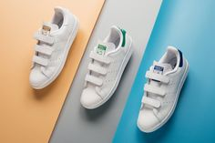 e8e76407ae06b6 The adidas Originals Stan Smith CF Releases In Three Classic Colorways for  Spring 2017