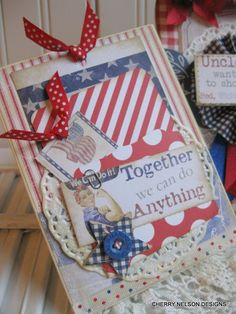 Cherry's Jubilee: Love me some red, white, and blue