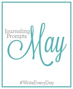 May Journaling Promp
