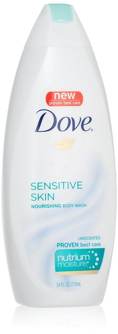 Dove Body Wash with NutriumMoisture, Sensitive Skin, 22 Ounce Bottles (Pack of 4) *** Be sure to check out this awesome product. (This is an Amazon Affiliate link and I receive a commission for the sales)