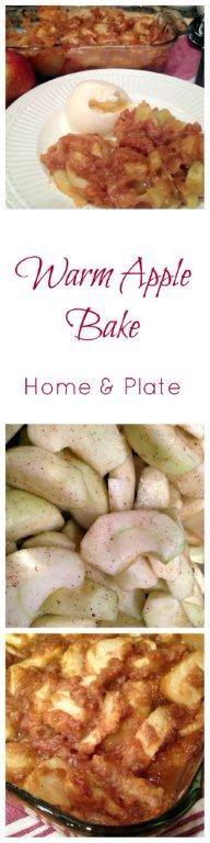 Warm Apple Bake