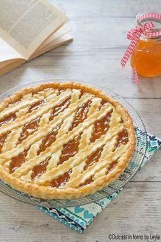 Crostata alla marmellata classica, ricetta Dulcisss in forno by Leyla